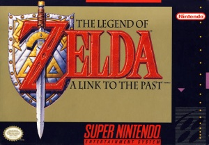 A Link to the Past box art