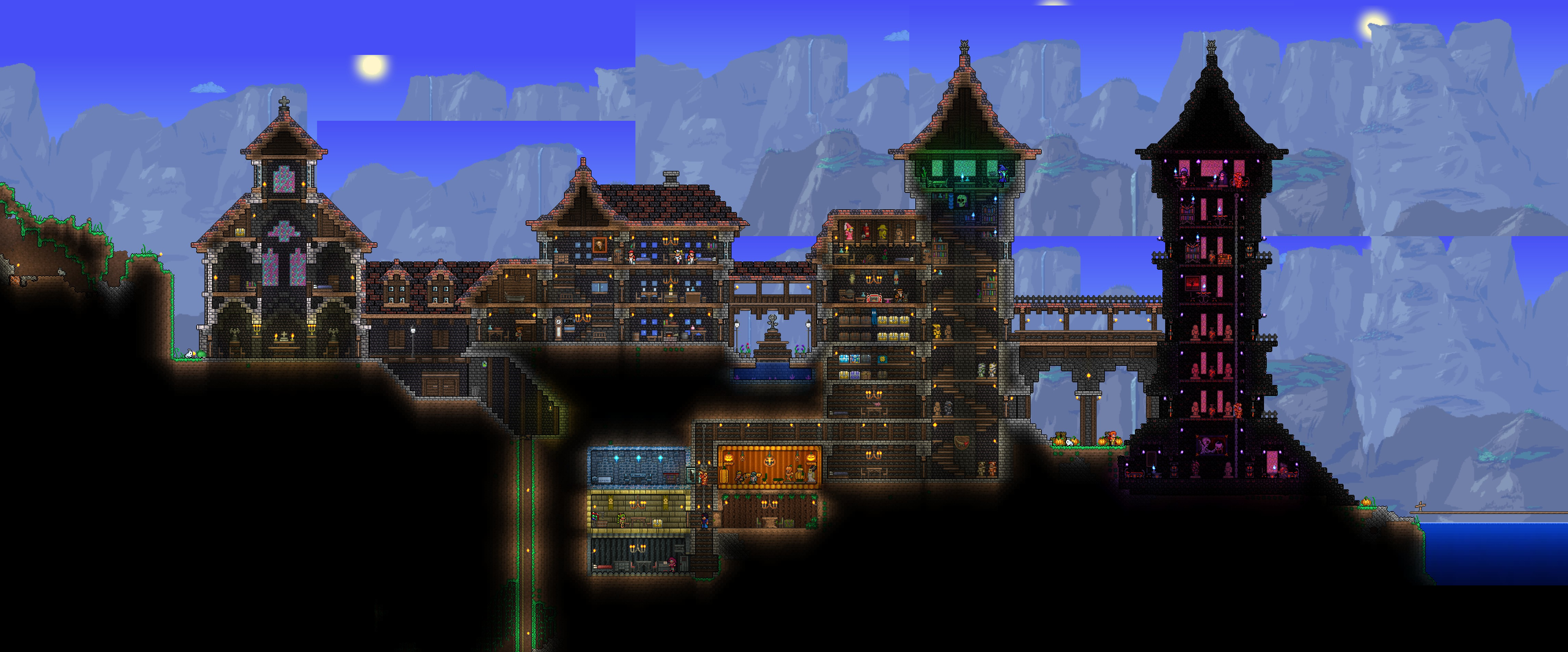 Indie corner game review 2 terraria the ons gaming for Terraria house designs