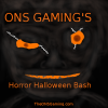 Horror Halloween Bash Event Title