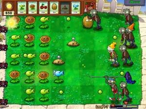 Plants vs. Zombies level