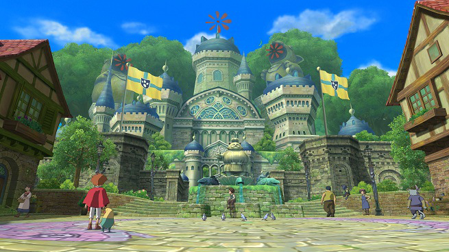 The game's visuals just shout adventure to one's imagination.