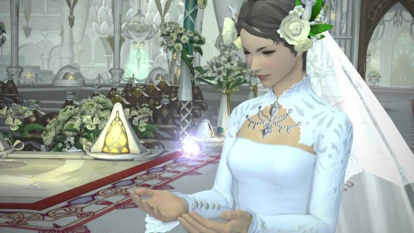 There's a new expansion coming soon, and recently they patched in the ability to get married in game which gives xp bonus, some garments, there's some other bonuses on various levels of wedding sets.