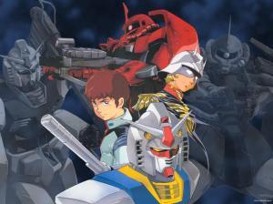 char_and_amuro_gundam_mobile_suit_msg_anime_hd-wallpaper-356364