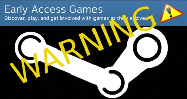 Warning this game is an Early Access Steam Game!