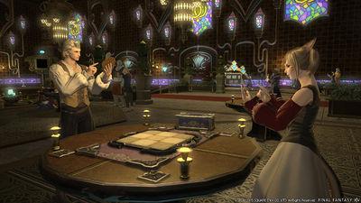 Card Battling in a MMORPG